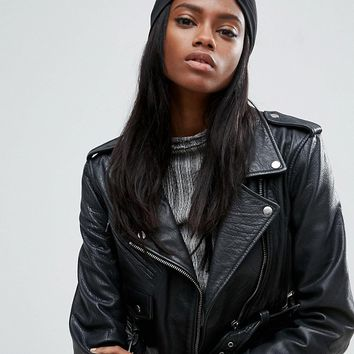ASOS Knot Front Jersey Hat at asos.com