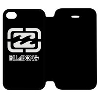 Billabong Logo Surfing Clothing iPhone 4 | 4S Flip Case Cover