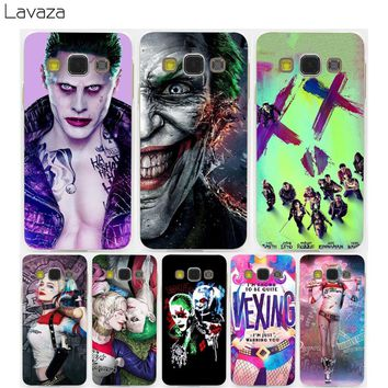 Lavaza Harley Quinn Suicide Squad DC Comics Hard Transparent Case for Samsung Galaxy S3 S4 S5 S6 S7 S8 S9 Edge Plus