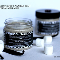 Marshmallow Root and Vanilla Bean Facial Milk Mask