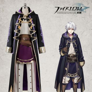 Hot Game Fire Emblem: Awakening Avatar Robin For Man Cosplay Custom Made Costume