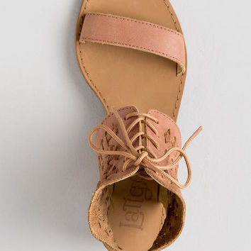 Latigo, Rose Leather Sandal