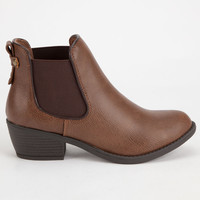 SODA Chelsea Womens Booties | Boots