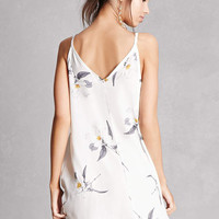 Floral V-Neck Shift Dress