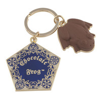 Universal Studios Wizarding World of Harry Potter Chocolate Frog Keychain New