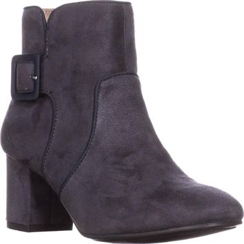 White Mountain Calisi Ankle Booties, Grey, 7 US