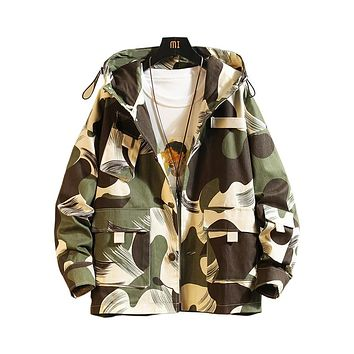 Painted Camouflage Jacket