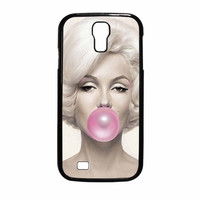Marilyn Monroe Bubble Gum Samsung Galaxy S4 Case