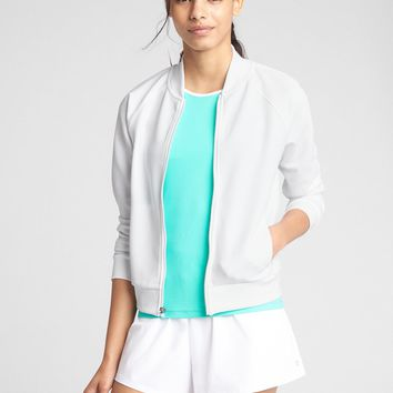 GapFit Tennis Bomber Jacket|gap