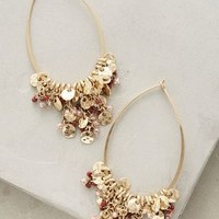 Florent Hoops by Anthropologie in Gold Size: One Size Earrings