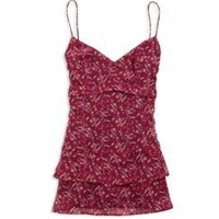 Women's AE Ruffly Floral Cami - American Eagle Outfitters