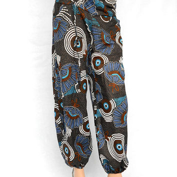 Thai Pant Alibaba Harem Trouser Hippie Pant Boho Bohemian Women Cotton Mandala Clothing Pant Gypsy Pant Trousers
