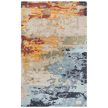 MO999A Mod Hand-Tufted Area Rug, Tan, 5' x 8' By Rizzy Home