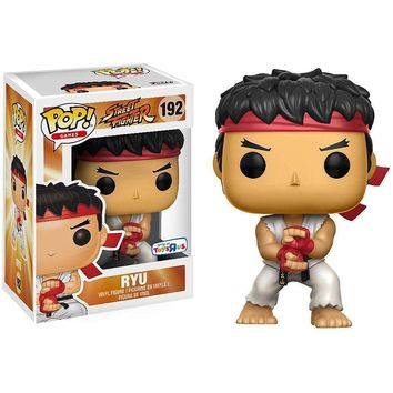 Ryu Street Fighter Funko Pop! Figure #192 TRU Exclusive