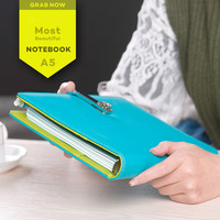 New A5 candy agenda planner organizer Dokibook notebook Loose-leaf notebook for gift Spiral Notepad Office Stationery
