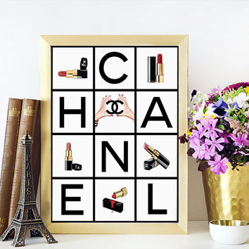Shop coco chanel room decor on wanelo for Fashionista bedroom ideas
