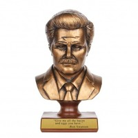 Parks and Recreation Ron Swanson Bust