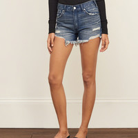 High Rise 4 Inch Denim Shorts