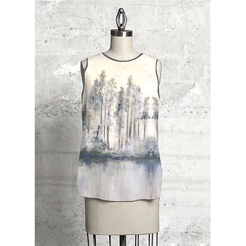 Amber Trees Sleeveless