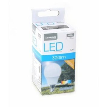 Omega Light bulb Round E14 4W 320lm Natural