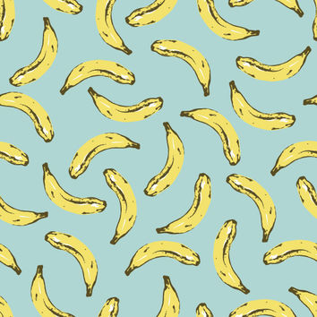 Velvet Bananas Removable Wallpaper Decals