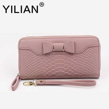 2017 New Wallet For Women Wallet Long Lovely Pu Leather For Women Purse Female Coin Card Clutch Big Capacity For Women Purse Wom