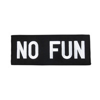 No Fun Patch - Black
