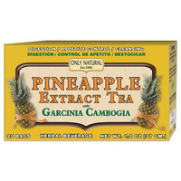 Only Natural Tea Pineapple Extract Garcinia Cambogia (1x20 Tea Bags)