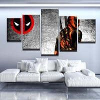 Deadpool Canvas Set