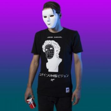 VAPOR CHANNEL T-shirt - KODXINV Vaporwave clothing