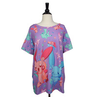 Electric Sparks Pokemon Boxy Tee