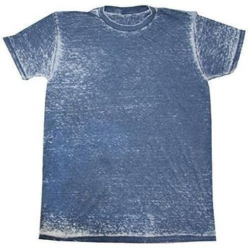 Mens Acid Wash Tee Shirt