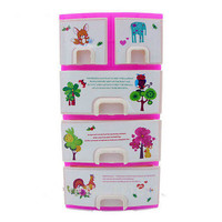 Barbie Doll Accessories Case with Pull Out Drawers & Accessories HU