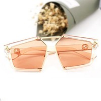 GUCCI Popular Women Casual Summer Bee Sun Shades Eyeglasses Glasses Sunglasses I12884-1