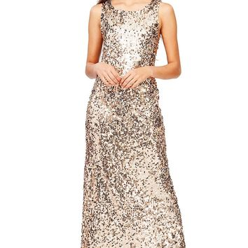 Dazzle Light Sequin Gown