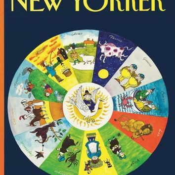 Mother Goose Zodiac by New York Puzzle Co.