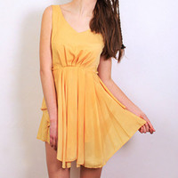 Daffodil Canary Dress