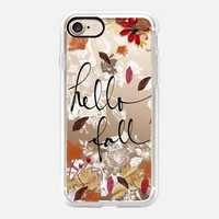 Hello Fall iPhone 7 Capa by Li Zamperini Art | Casetify