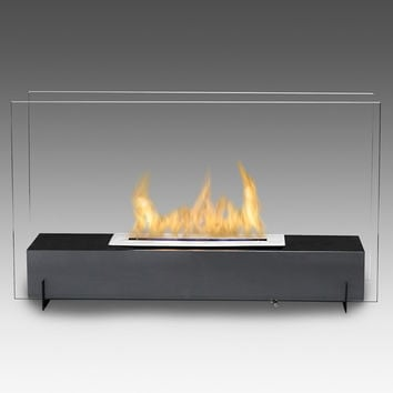 Eco-Feu Visio Tabletop/Free-Standing Fireplace
