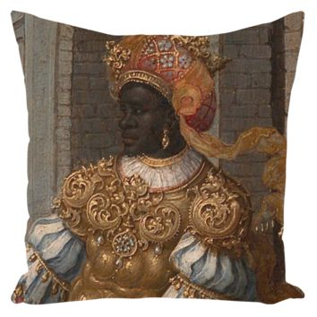 The Adoration of the Kings - Throw Pillow