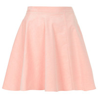 Pink Baby Cord Skater Skirt - Skirts - Clothing - Topshop