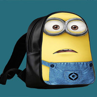 New Of Minion Despicable 2 for Backpack / Custom Bag / School Bag / Children Bag / Custom School Bag *