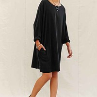 Urban Renewal Remade Brushed Flannel Shift Dress-