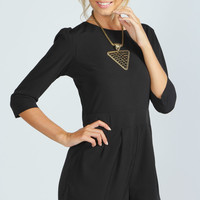 Lara 3/4 Sleeve Playsuit