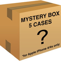 Mystery Box of 5 cases for Apple iPhone 4/4s