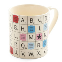 ModCloth Vintage Inspired, Quirky, Scholastic To the Letter Mug