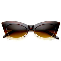 1950's Womens Retro Fashion Cat Eye Sunglasses 8936