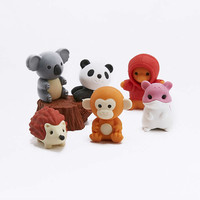 Forest Animals Eraser Set - Urban Outfitters