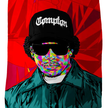 Eazy-E Fleece Blanket