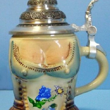 Lady's Dirndl German Stein 0.125L